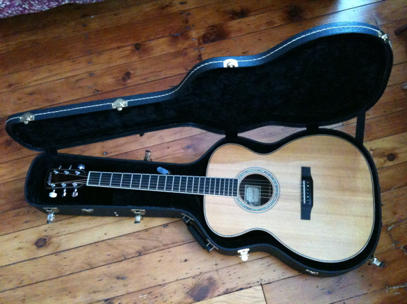 My guitar, a Larrivée OM-09
